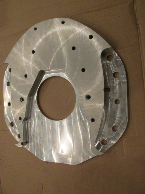 Adapter Plate For Cummins 4bt Or 6bt Engine Into Farmall M