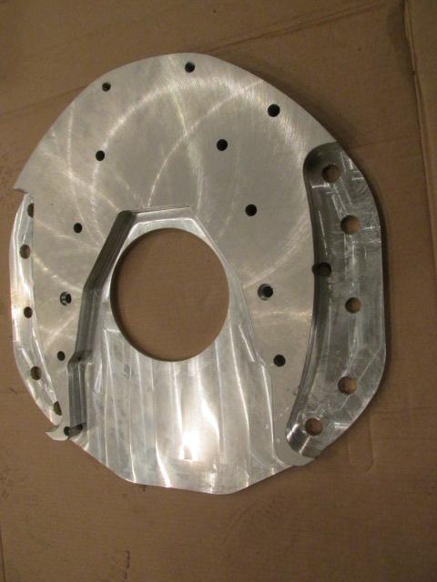 Farmall H Flywheel : Adapter plate for cummins bt or engine into farmall m