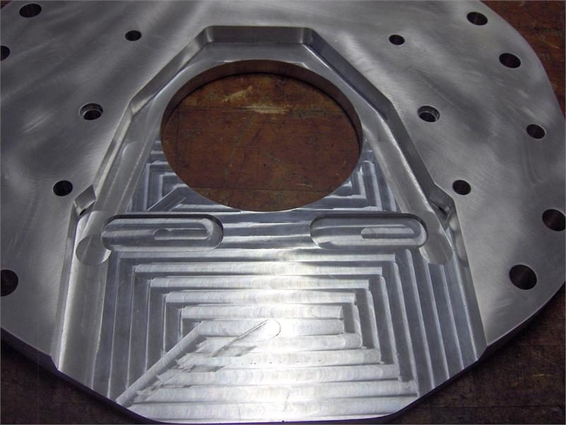 Adapter Plate Amp Flywheel For Cummins Engine Into