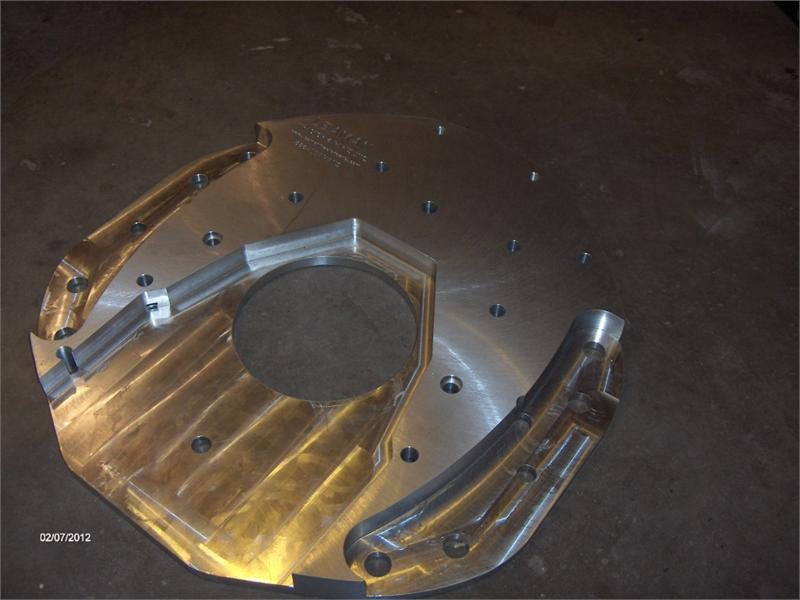 ADAPTER plate for Cummins 4BT or 6BT engine into Farmall M ...