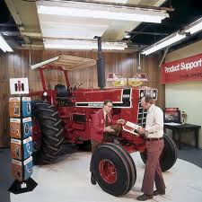 International IH 1566 or 1568 two post canopy (weatherguard) with correct leg bases and mounts & International IH 1566 or 1568 two post canopy (weatherguard) with ...